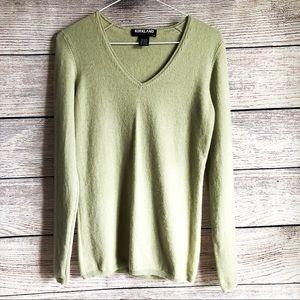 Kirkland Signature Chartreuse Sweater